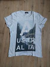 T-Shirt grau Bershka  L