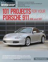 Porsche 911 Shop Service Repair 101 Projects Manual 996 997 1998-2008 Book