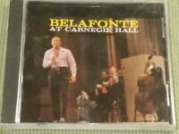 BELAFONTE AT CARNEGIE HALL 15 TRACK NEW FACTORY SEALED CD FREE SHIPPING
