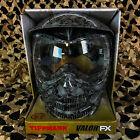 NEW Tippmann Valor FX Anti-Fog Paintball Face Mask Goggle - Skull (T295014)