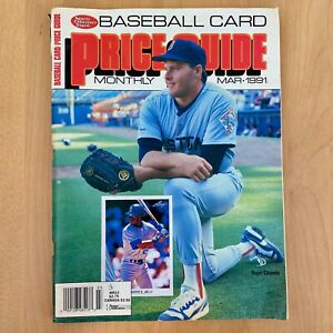 Sports Collectors Digest Baseball Card Price Guide Monthly March 1991 Clemens