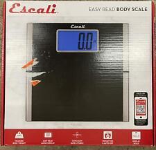 Easy Read Bathroom Scale Black - Escali