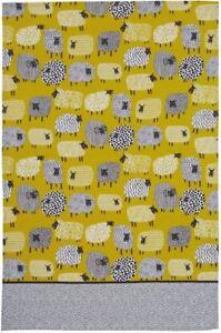 New Ulster Weavers Dotty Sheep cotton tea towel