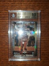 2015 Topps Chrome #2 Aaron Rodgers Sepia Refractor BGS 9.5