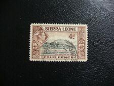 Sierra Leona 1938 SG193 4d Freetown de Puerto. usado. Cat £ 4.50.