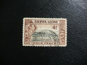 Sierra Leone 1938 SG193 4d Freetown From Harbour. Used. Cat £4.50.