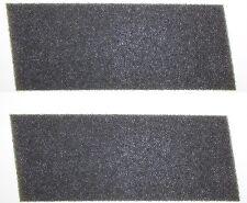 2 Schaumstoff Filter HX Bauknecht 481010354757 Wärmetauscher Trockner