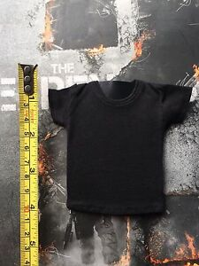Hot Toys mms194 Expendables 2 Barney Ross 1/6 Black Tee