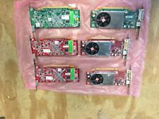 ATI Radeon HD B276 - 256 B Video Card  PCI-E **** LOT of 6 *** Dual Monitor card