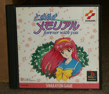 Tokimeki Memorial Forever With You Playstation Import Complete With Stickers