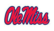 UNIVERSITY of Mississippi Ole Miss Rebels SUPER Size Logo Decal