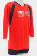 Troy Lee Designs Men's Ruckus Long Sleeve Cycling Jersey Size Medium Red/Black