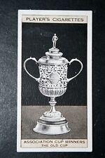 The FA Cup   Original 1871 Trophy    Vintage Card # VGC