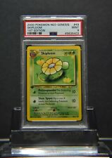 Pokemon Neo Genesis Skiploom #49 1st Edition PSA 9 Graded