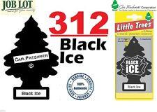312 X BLACK ICE MAGIC LITTLE TREE CAR/HOME/VAN/OFFICE AIR FRESHENER BULK BUY