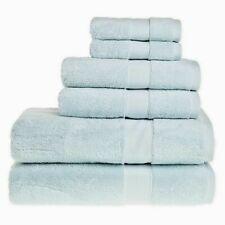 """Wamsutta® 6-Piece Hygro® Duet Bath Towel Set in Color """"Sea"""""""