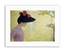 JEUNE FILLE DE PROFIL 1891 ARISTIDE JOSEPH BONAVENTURE MAILLOL Canvas art Prints