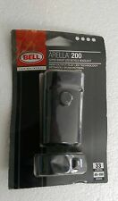 NEW BELL ARELLA 200 SUPER BRIGHT LED BICYCLE HEADLIGHT 33 LUMENS 45-100 HOURS