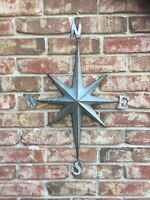Direction Star Galvanized Metal Wall Decor