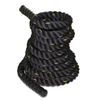 """100% Poly Dacron 2"""" x 50ft Battle Rope Exercise Workout Strength Training Rope"""