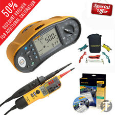 Fluke 1664 FC Kit tester multifunzione con la terra Spike KIT | T150 | DMS Software
