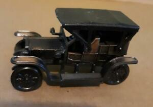 Diecast/metal, 1906 Rolls Royce car, pencil sharpener, bronze, miniature