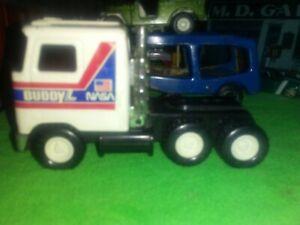 "Buddy L (Mini)NASA Mack Truck CAB  1980  White & black Japan 4.5"" long NICE ONE"