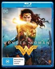 Wonder Woman (Blu-ray, 2017), New and Region B