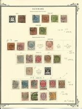 Denmark Collection 1851-1879 on Scott Specialty Pages, SCV $1690