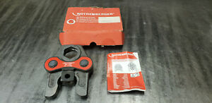 """Rothenberger 15226X  1-1/2"""" Romax Pipe Pressing Press Tool Jaw. NEW IN BOX"""