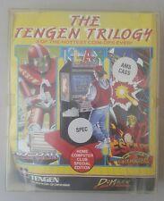 Amstrad Jeux le Tengen Trilogie-AMSTRAD CASSETTE Games Trilogy
