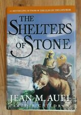 Jean M. Auel Shelters of Stone HCDJ 1st edition 1st printing Earth's Children 5