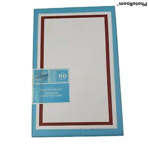Gartner Wine Maroon Wedding Invitation Kit 50 Ct Invite Response Cards Envelopes