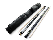 Black Friday!Champion Spider White Pool Cue Stick, S Playing cue, 2X2 Black Case