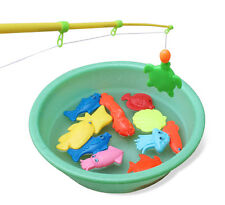 Magnetic Fishing Game Toys Rod Hook Catch Kids Children Bath Time Best Gift HOT