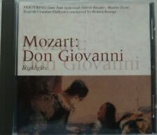 MOZART WOLFGANG AMADEUS:  DON GIOVANNI HIGHLIGHTS  NEAR MINT CD FROM 1994