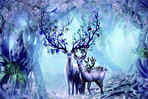 Wooden Jigsaw Puzzles 1000 Pieces set ELK F10-53 Christmas Decorations Gift