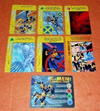 OVERPOWER X-Men: Original Team SET hero 5 sp Marvel Girl Angel Beast 1 bonus