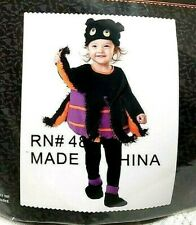 *LITTLE SPIDER* HALLOWEEN TODDLER COSTUME Size 1T - 2T NEW IN PACKAGE