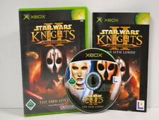 4 ) XBOX - Star Wars: Knights Of The Old Republic II - The Sith Lords - sehr gut