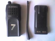 MOTOROLA GP320 modèle MDH25RDC9AN0AE 1 Channel UHF portatif Radio-travail,