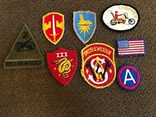 VINTAGE LOT OF 8 Patches, Hell On Wheels, Smith & Wesson, Chopper, Etc.
