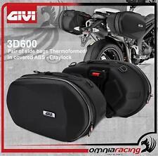 GIVI Easylock 2 Borse Laterali Espandibili Termoformate ABS Rivestito Linea 3