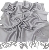 New Solid Colour Design Shawl Scarf Wrap Stole Pashmina CJ Apparel 80+ Colours