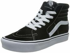 VANS SK8-HI LITE (SUEDE/CANVAS) BLACK WHITE SKATE SHOES MENS SIZE 10 NEW FAST⚡