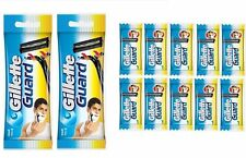 New 2 Gillette Guard Razors with 30 Extra Blades Cartridges For Men Shaving