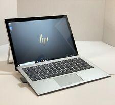 """HP Elite x2 1013 G3 13"""" Core i7-8650U 256GB SSD Fingerprint 2 In 1 Laptop Tablet"""