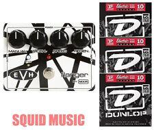 MXR Dunlop EVH-117 Eddie Van Halen Flanger  ( 3 SETS OF GUITAR STRINGS ) EVH117