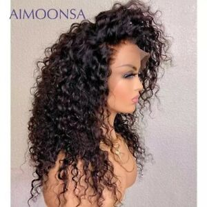 Curly Human Hair Wig 13x4 Lace Front Human Hair Wigs Brazilian Lace Frontal Wigs