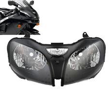Headlight Head Lamp Assembly For Kawasaki Ninja ZZR600 ZX6R 00-02 ZX9R 00-03